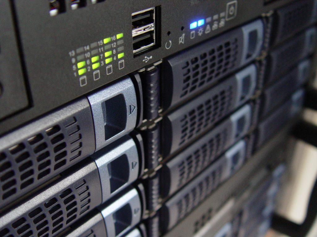 Imagen de detalle de un servidor