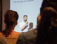 Imagen de una conferencia o seminario
