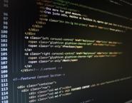 Imagen de una pantalla con un fragmento de código