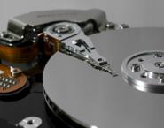 Imagen de una parte de un disco duro