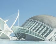 Imagen del Hemisferic, Ciudad de las artes y las ciencias, Valencia